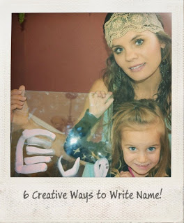 6 Creative Ways to Teach Your Child how to Write his or her Name !!