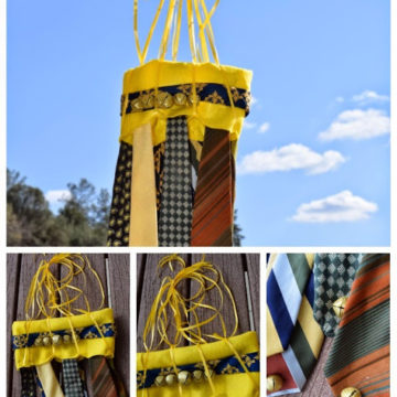 How to Make a Necktie Wind Chime !