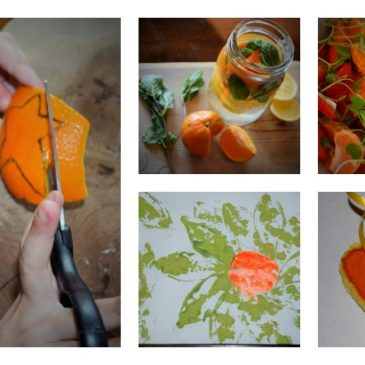 Grown Healthy: Orange Fun and Salad