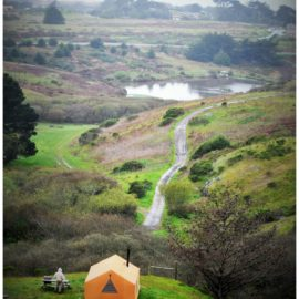 Glamping in Bodega Bay