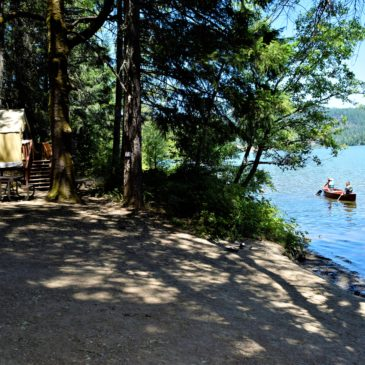 Glamping at Mary Smith Campground